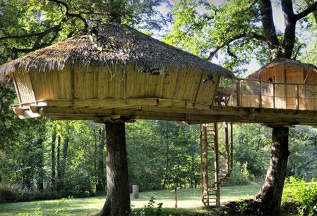 Alojarse en caba as en los arboles - Cabanas en los arboles ...
